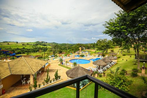 A view of the pool at Águas Do Verê Termas or nearby