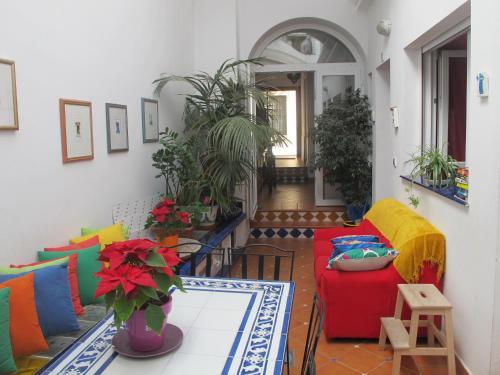 El vestíbulo o zona de recepción de B&B Casa Alfareria 59