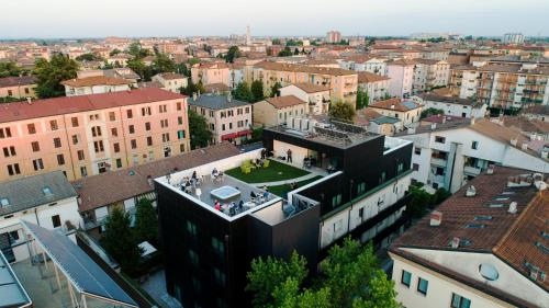 Vista aerea di Corte Ongaro Hotel