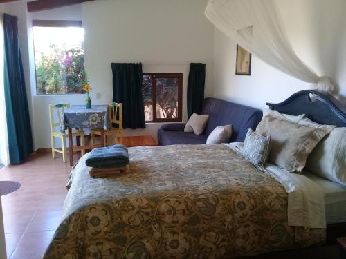 Cama o camas de una habitación en Casa Lynda
