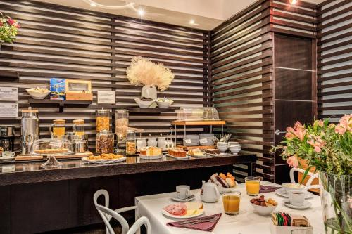 Breakfast options available to guests at Trevi Beau Boutique Hotel
