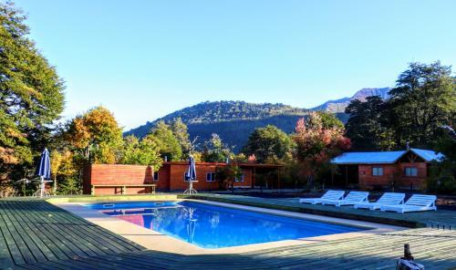The swimming pool at or near Mawidantu Lemu