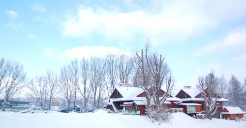 Penzión - Koliba u Štefana during the winter