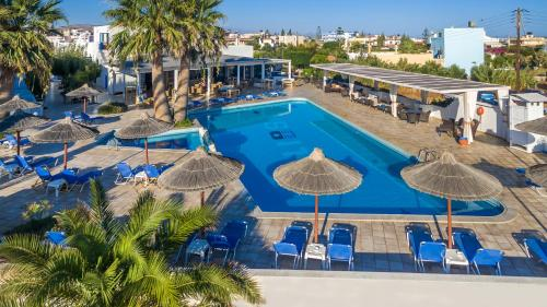 A view of the pool at Hotel Hara Ilios Village or nearby