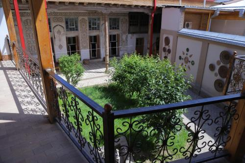 A balcony or terrace at Rabat Boutique Hotel