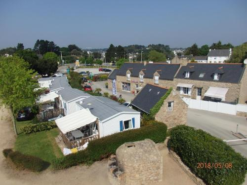A bird's-eye view of Camping les Palmiers