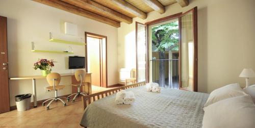 Area soggiorno di Residence Cavazza