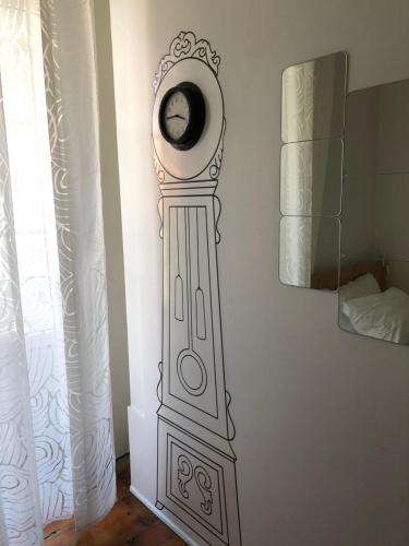 Uma casa de banho em G&B - Hostel and Wines