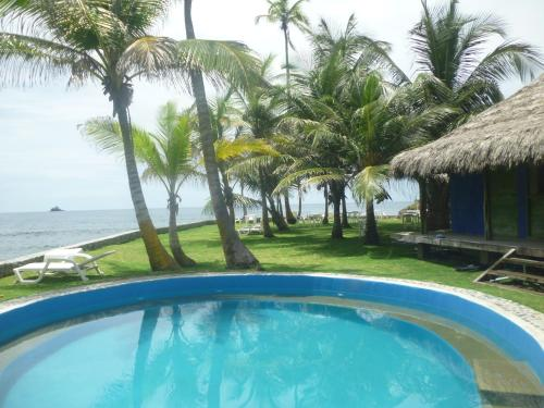 The swimming pool at or near Bahia Lodge