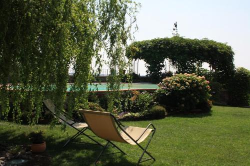 Een tuin van B&B POGGIO CAIAR