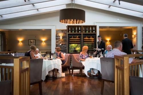 A restaurant or other place to eat at Rothay Garden Hotel & Riverside Spa