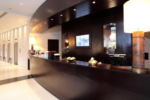 The lobby or reception area at Starhotels Excelsior