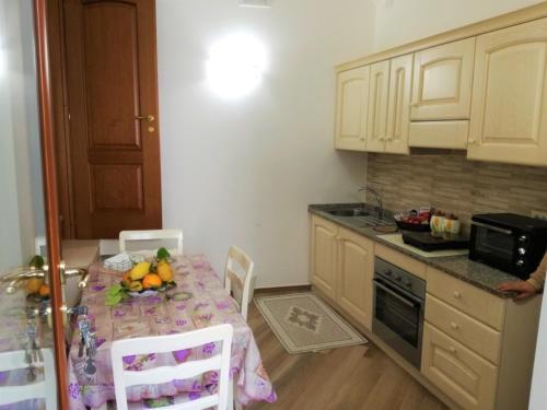 Cucina o angolo cottura di Casa Franziska