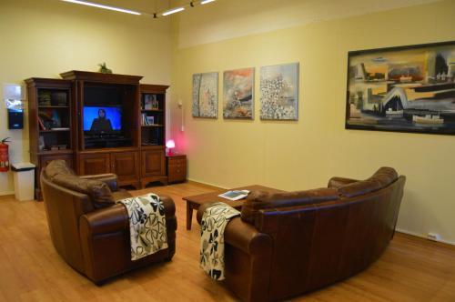 Setusvæði á Art Hostel and Apartments