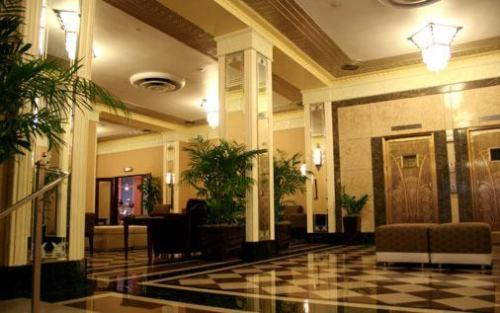 The lobby or reception area at Ambassador Hotel
