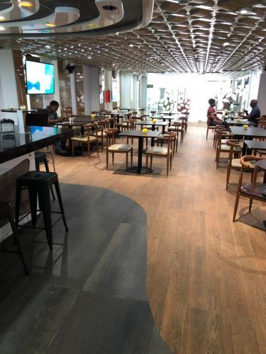 Un restaurante o sitio para comer en Hotel Sotelo