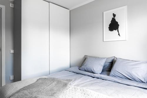 Säng eller sängar i ett rum på Rämsbyns Fritidsby