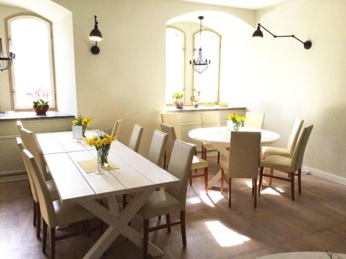 En restaurang eller annat matställe på Kvarnen i Borgvik