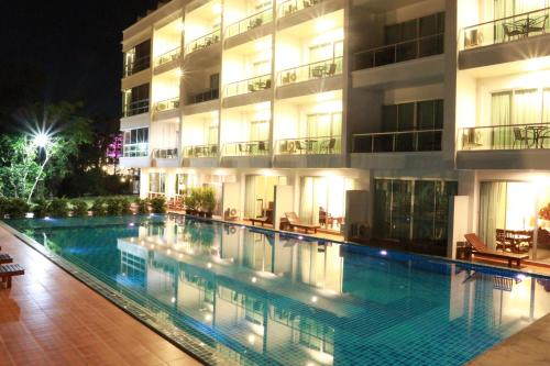 The swimming pool at or near The Pano Hotel & Residence