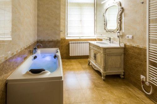 Koupelna v ubytování Karlsbad Prestige