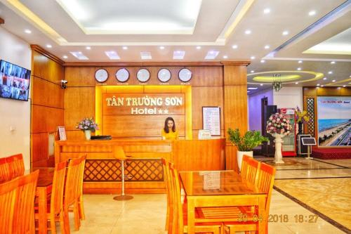 The lobby or reception area at Tân Trường Sơn