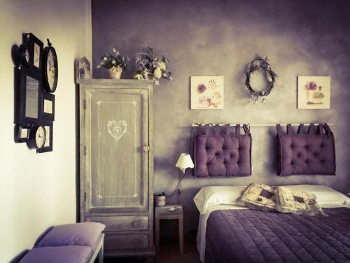 Letto o letti in una camera di B&B Ambarabà