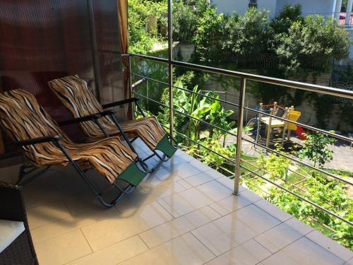 Балкон или терраса в Apartment with Terrace