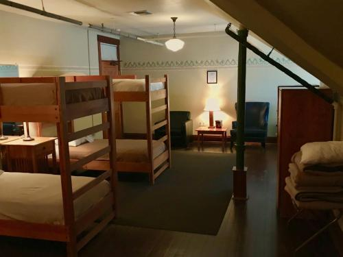 A bunk bed or bunk beds in a room at McMenamins Edgefield