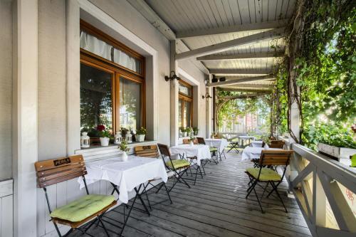 Restauracja lub miejsce do jedzenia w obiekcie Hotel Sitarska