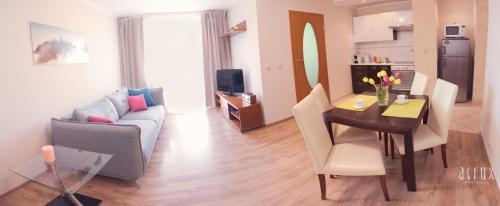 Część wypoczynkowa w obiekcie Apartament 201 w Hotelu DIVA