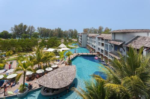 A view of the pool at Mai Khao Lak Beach Resort & Spa or nearby