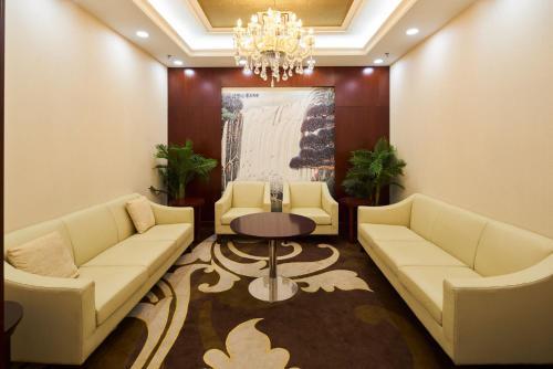 منطقة جلوس في فندق سولوكسي نيامي