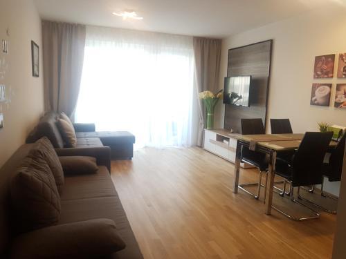 Posezení v ubytování Vienna Nice Apartment