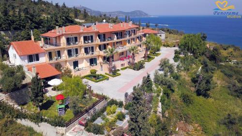 Гледка от птичи поглед на Panorama Hotel