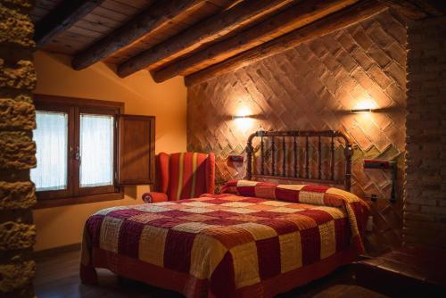 Cama o camas de una habitación en A Corona del Reino