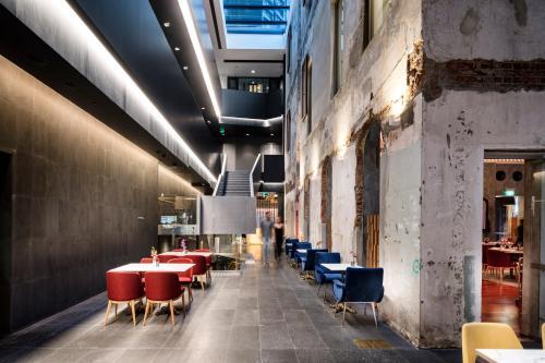 The Melbourne Hotelにあるレストランまたは飲食店