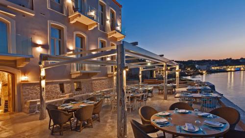 Restaurant ou autre lieu de restauration dans l'établissement Thalassa Boutique Hotel