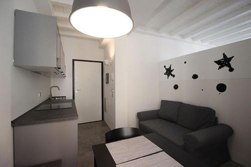 Area soggiorno di Piazza Trento 11