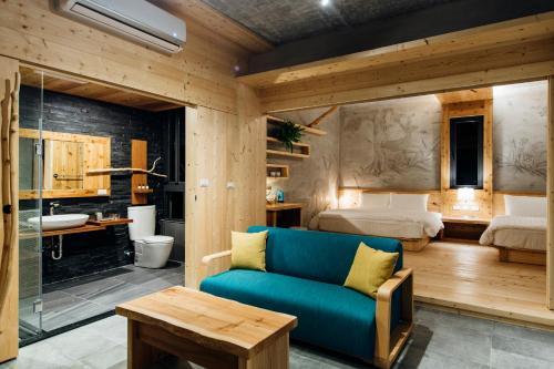 八番私人住宅 休息區