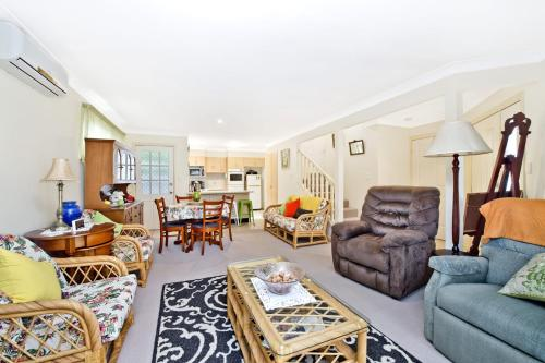 A seating area at 3/54 Owen Street, Port Macquarie