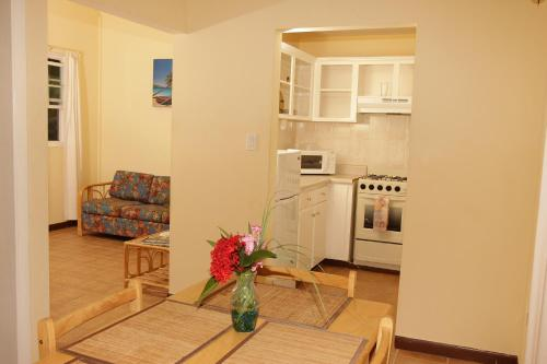 A kitchen or kitchenette at Paige Pond Country Inn