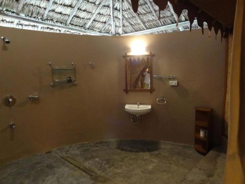 Et badeværelse på The Barefoot At Havelock