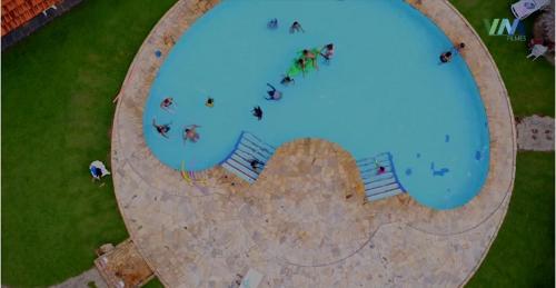Uma vista da piscina em Pantanal Park Hotel ou nos arredores