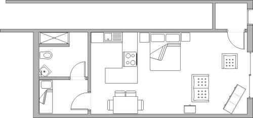 Plan de l'établissement Studio De Zunneblomme