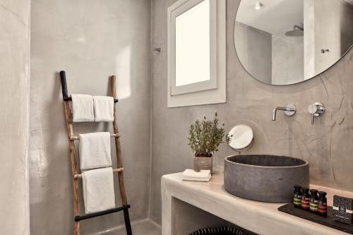 Ένα μπάνιο στο Boho Suites