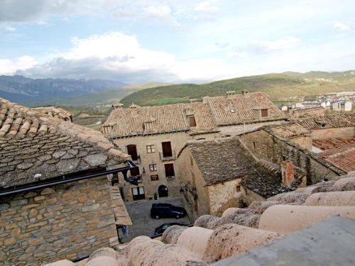 A bird's-eye view of Casa Fes Autural