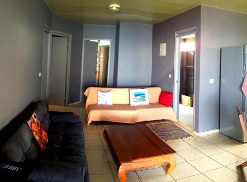 A seating area at MOOREA - Fare Taina Iti