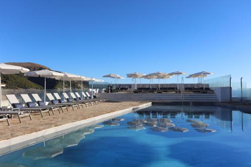 The swimming pool at or near Mar Azul Pur Estil Hotel & Spa - Adults Only