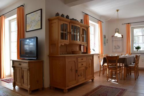 TV/Unterhaltungsangebot in der Unterkunft Ferienwohnungen am Bernsteinweg