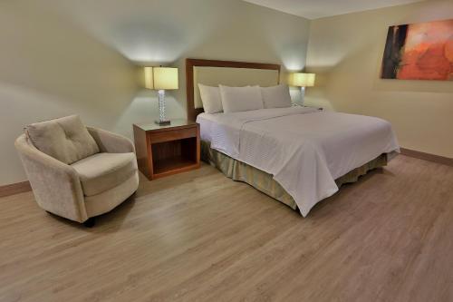 Cama o camas de una habitación en Antaris Valle